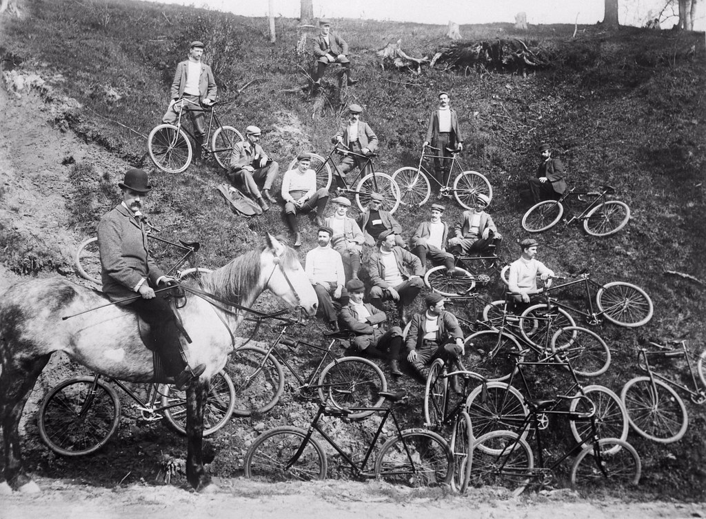 ... Cycling Club, Swansea area - by Toronto Public Library Special Collections