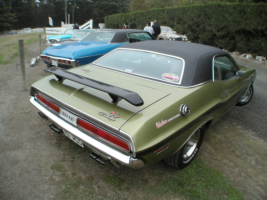 Dodge 1970 Challenger R T Western Sport Special R