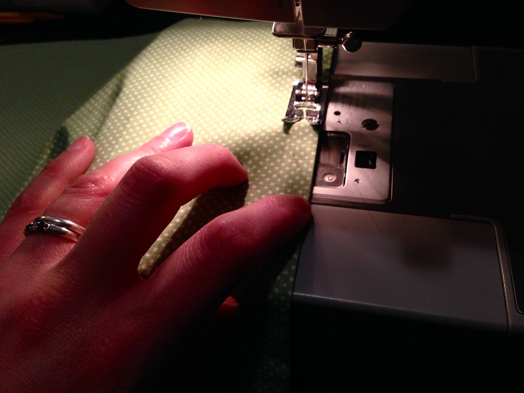 Trying my hand at machine sewing