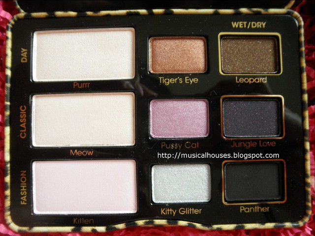 Too Faced Cat Eyes Eyeshadow Palette Closeup