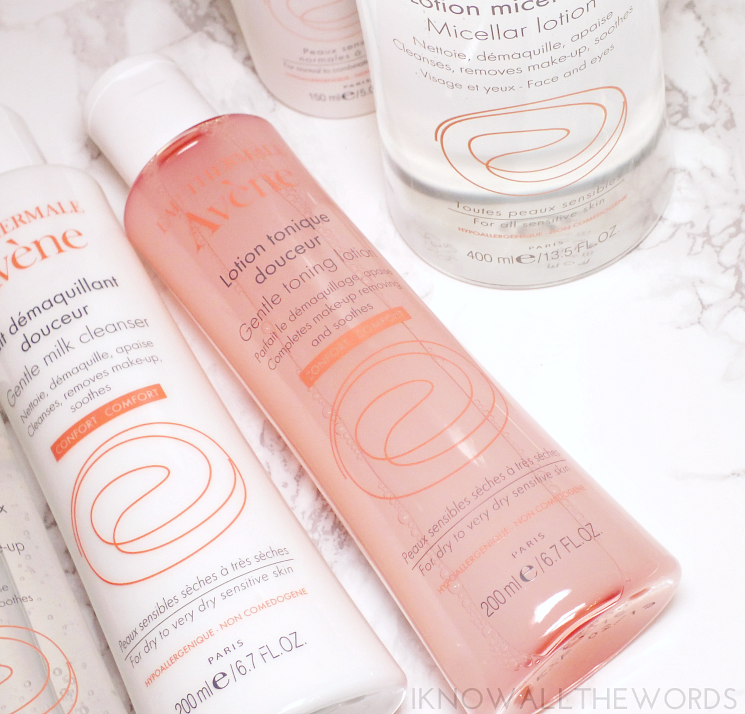 avene toning lotion