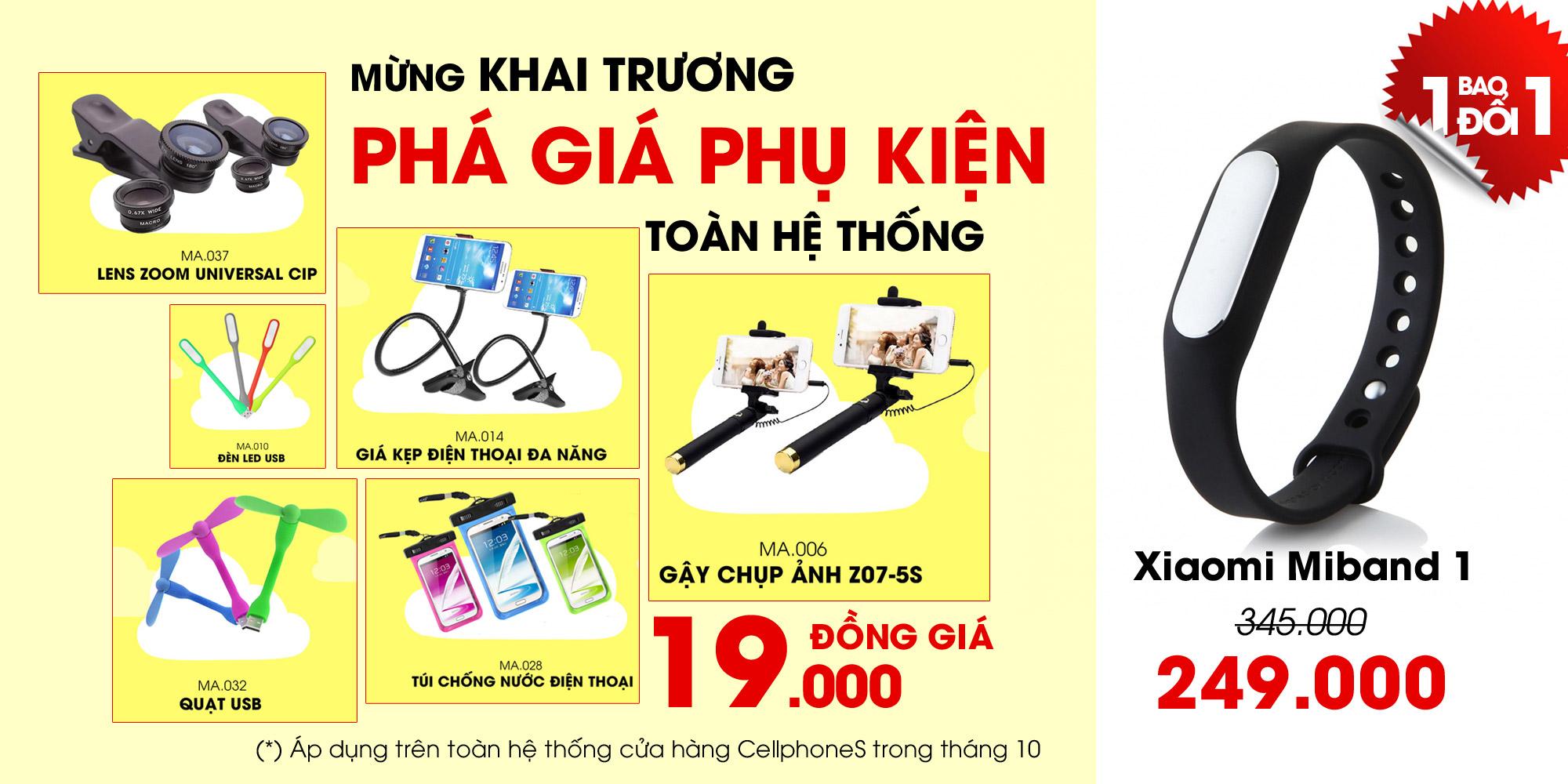 Khai trương CellphoneS 125 Lê Văn Việt
