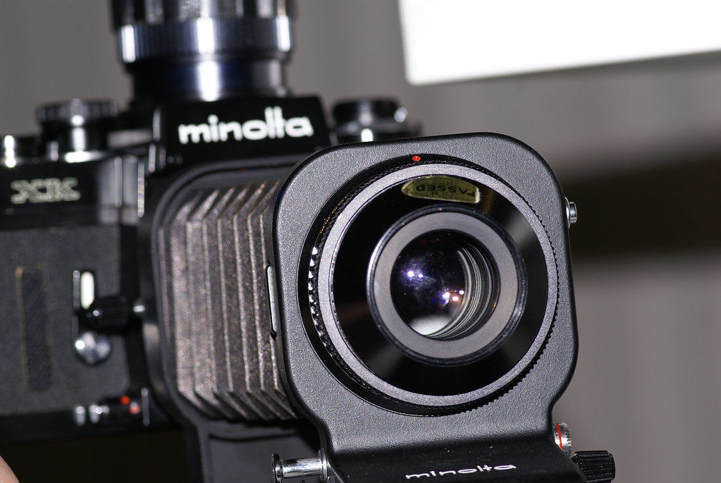Minolta Iii Bellows Bellows Iii And Minolta