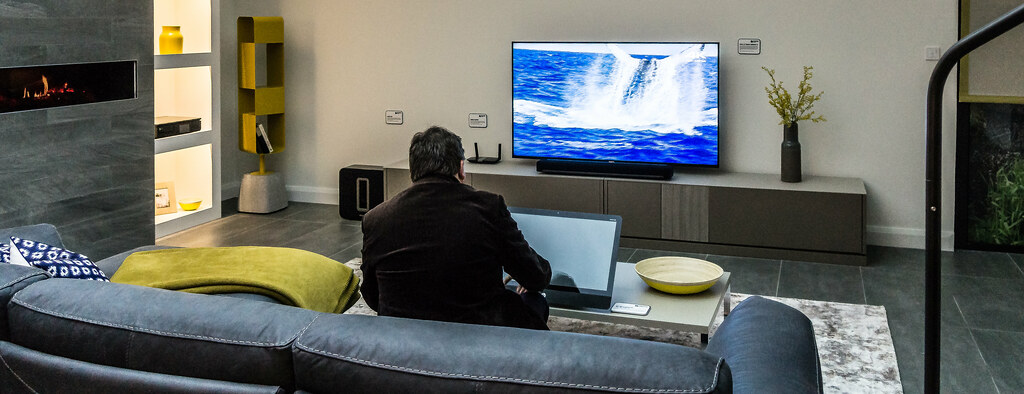 Quot A Sony 4k Tv Quot Norman Harvey Connected Home Showhouse Ide