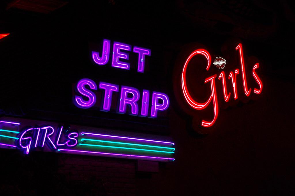 club jet strip
