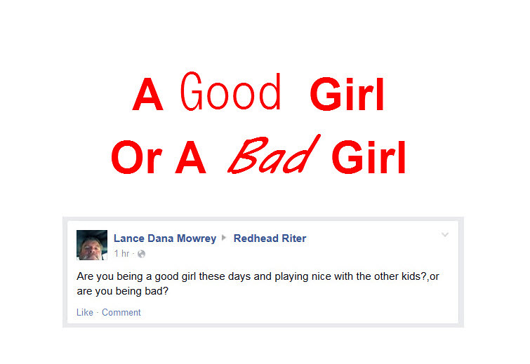 Facebook Comment Good Girl Bad Girl Question Title Flickr