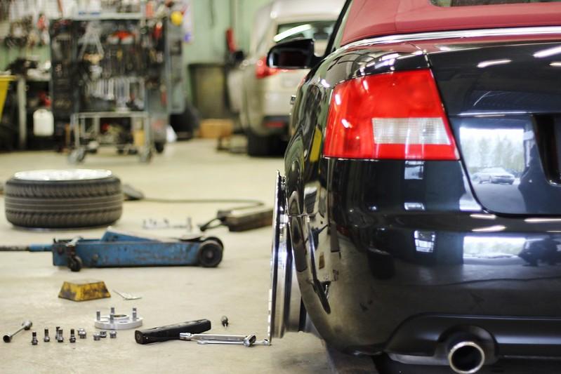 jusni: Audi A4 Bagged Bathtub - Sivu 3 17547375609_55c290fbd7_c