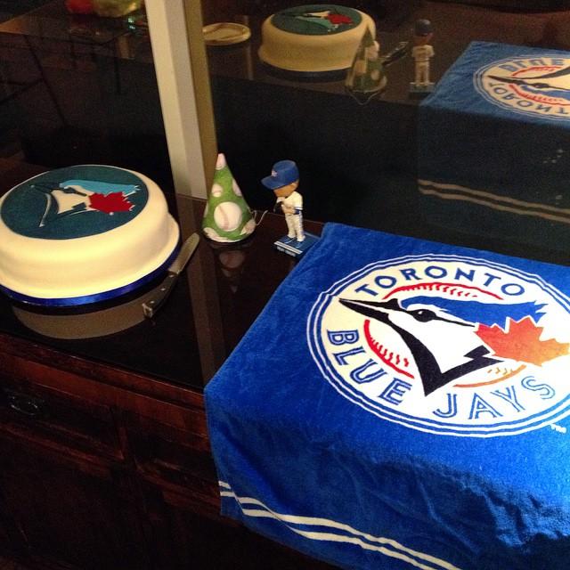 TBT A very Blue Jays baseball birthday party baseball Flickr