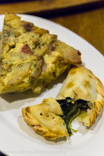 Spinach Empanada & Tortilla Española