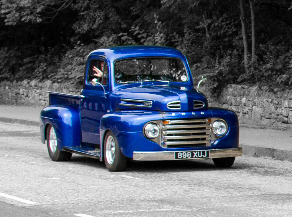 alec 39 s ford pick up winchburgh scotland colour pop. Black Bedroom Furniture Sets. Home Design Ideas