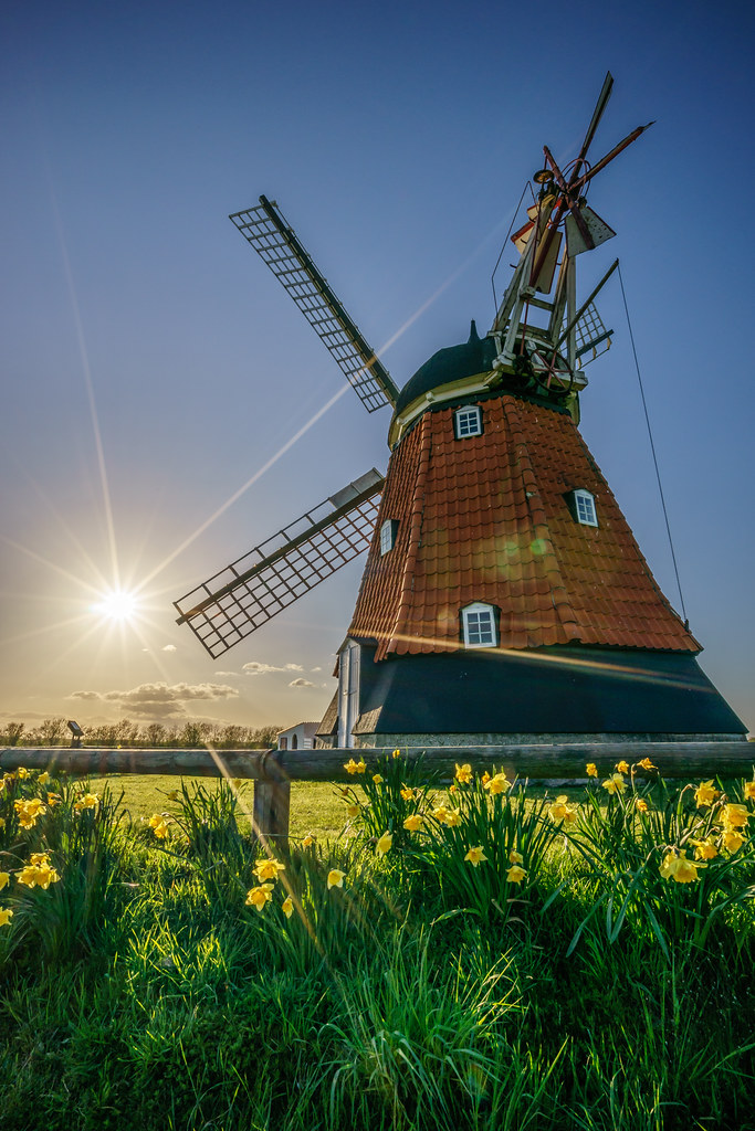 Terms Of Use >> Bjerre windmill, Stenderup, Denmark - Travel photography ...