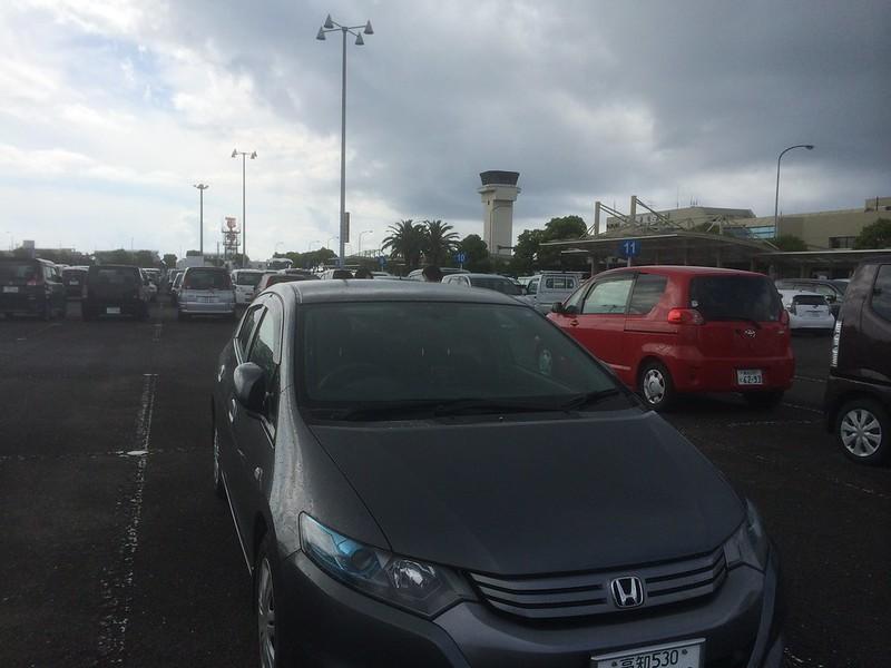高知空港駐車場