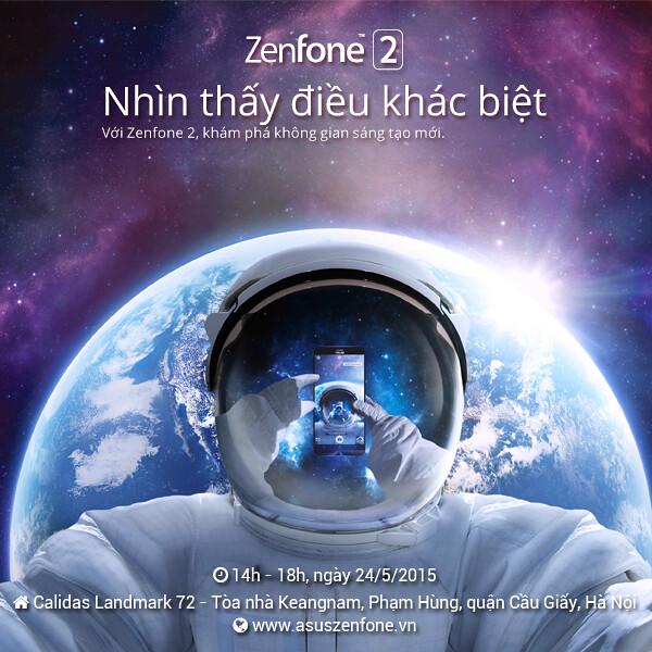 """ASUS trân trọng mời bạn tham dự buổi offline """"ASUS ZenFone 2: Nhìn thấy điều khác biệt"""" - 72323"""