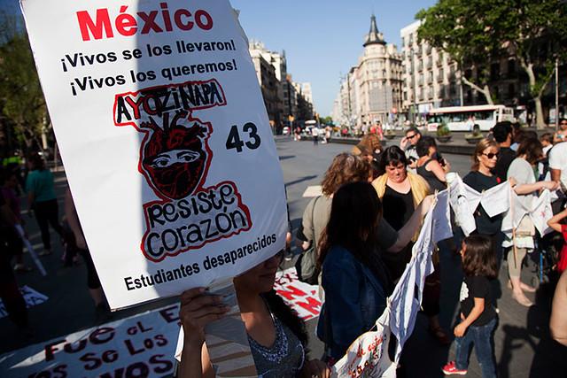 vivos se los llevaron, vivos los queremos. 43 estudiantes desaparecidos #ayotzinapa