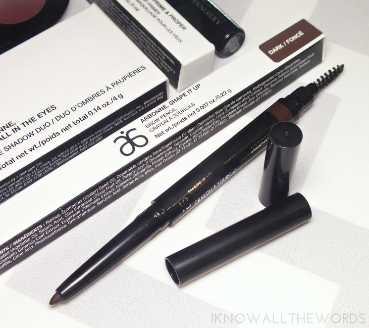 arbonne shape it up brow pencil - dark (1)