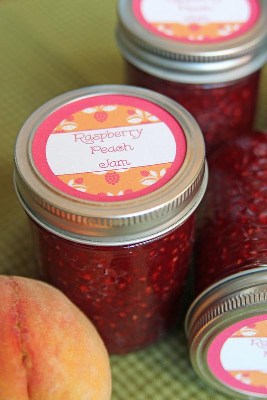 Raspberry Peach Jam