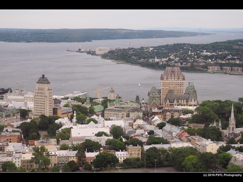 Quebec City from Observatoire de la Capitale