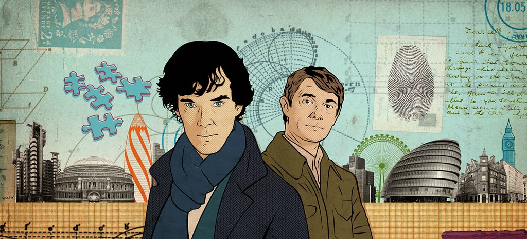 Sherlock by Bill McConkey