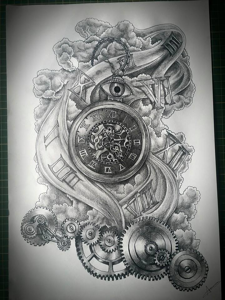 Pocket Watch In Time Flow Very Happy With The Way This