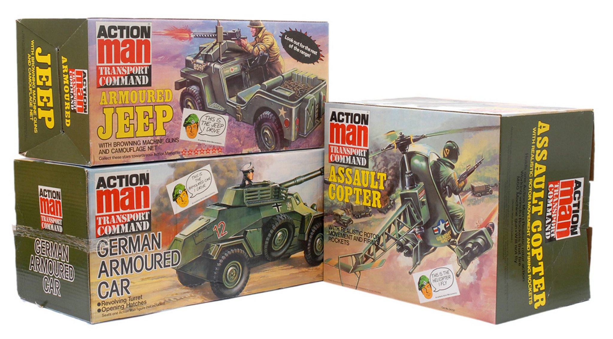 The Frank Beech retro toy shop - Action Man