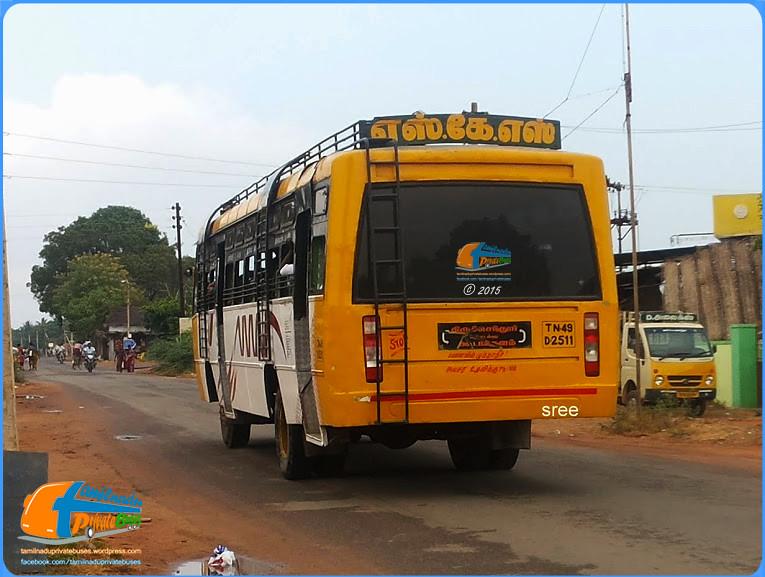 SKS Thiruchendur - Koodankulam Via Kayamozhi, Paramankurichi, Udangudi, Thattarmadam, Thisayanvilai, Attrangarai Pallivasal.