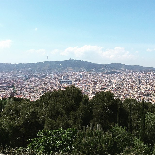 A view over Barcelona