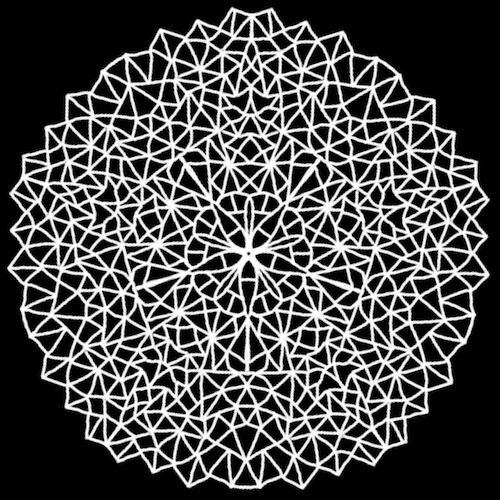 Mandala created in iOrnament