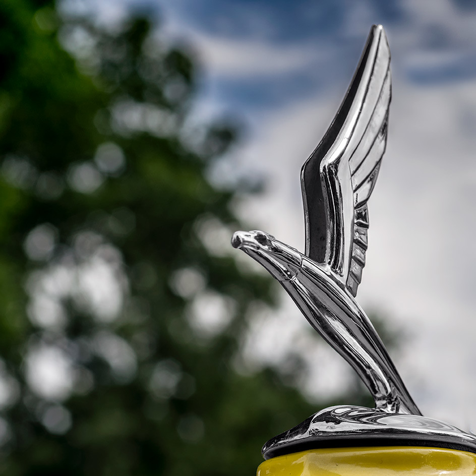 1933 Ford Eagle Hood Ornament - Fairmount Car Show, Denver