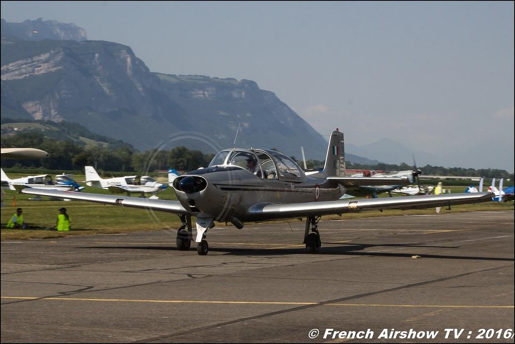 Piaggio P-149D , F-AZZI , Grenoble Air show 2016 , Aerodrome du versoud , Aeroclub du dauphine, grenoble airshow 2016, Rhone Alpes