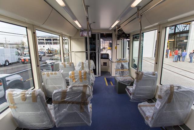 First Hill Streetcar Interior