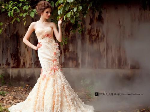高雄推薦婚紗攝影-高雄kiss99麗緻婚紗告訴大家2015春季婚紗的流行趨勢 (2)