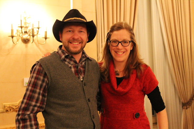 Ben Gotschall and Andrea Harden-Donahue