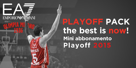 Abbonamento Playoff – The Best is Now!