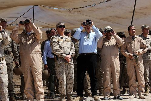 Ministro visita VI División del Ejercito - Iquique