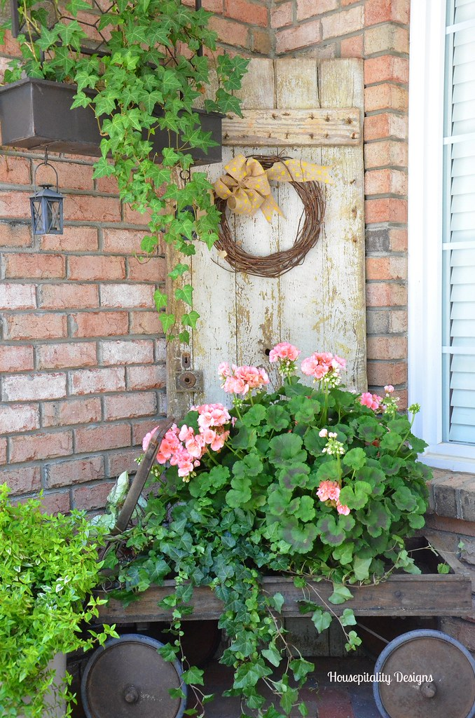 Housepitality Designs: Spring Front Porch 2015-Housepitality Designs