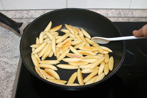 29 - Schupfnudeln anbraten / Braise potato noodles
