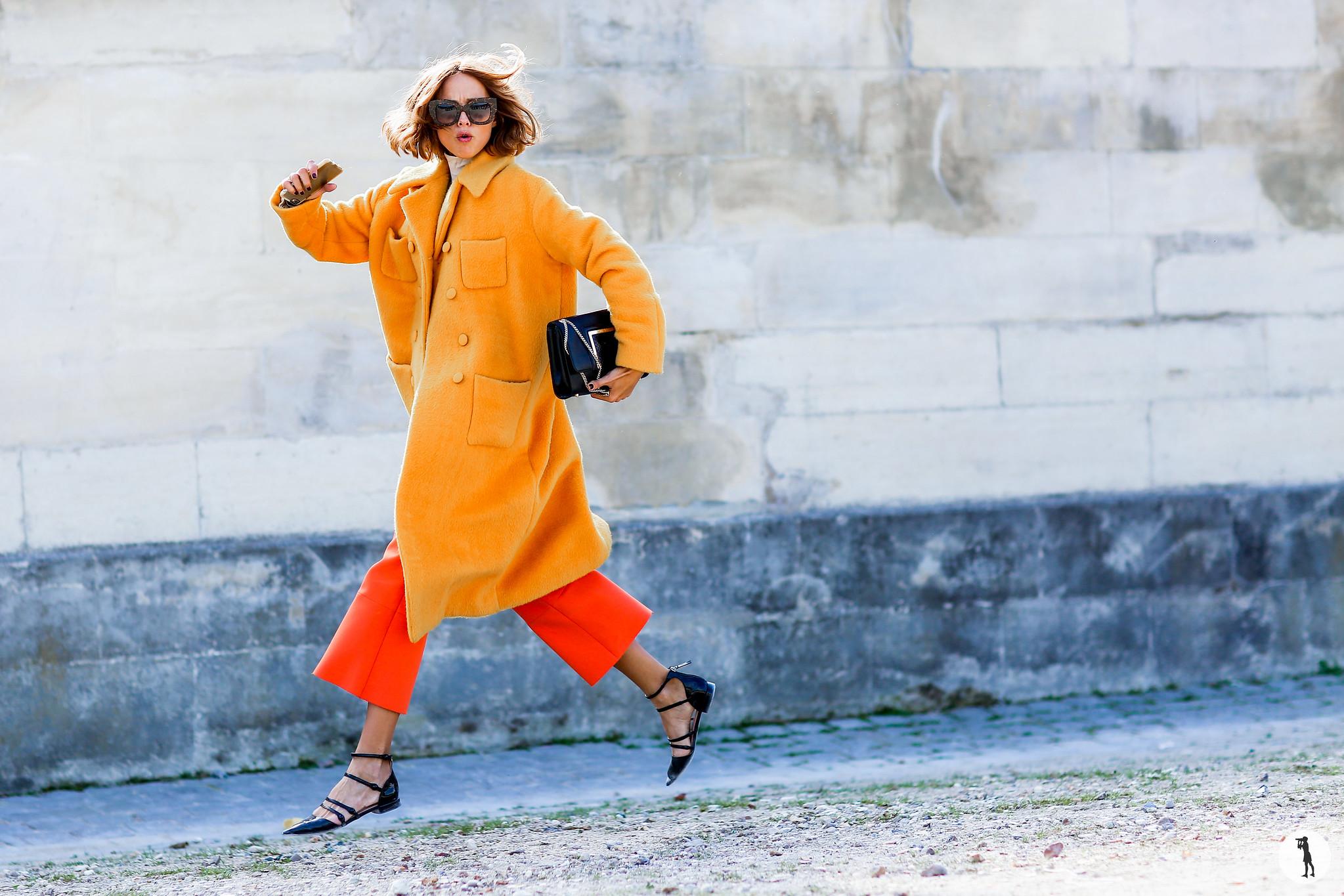 Street style, Paris Fashion Week SS16