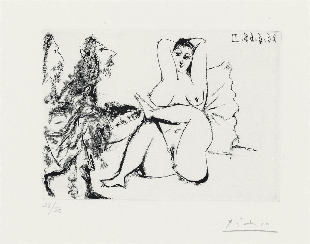 ВСамаре пройдет выставка эротических работ Пабло Пикассо