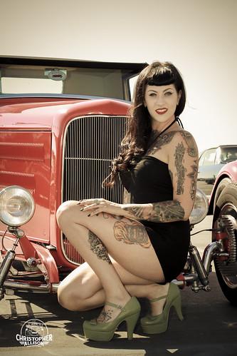 Harley Roadster For Sale San Diego >> Pinup Model Lauren Shade-ChristopherAllisonPhotography-059… | Flickr
