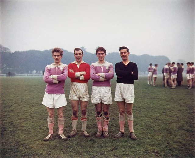 Phoenix Park on a Sunday, Dublin, 1966 16 x 20 inch dye transfer print (c) Evelyn Hofer