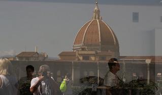 Riflessi Con Selfie Terrazza Degli Uffizi Firenze Flickr