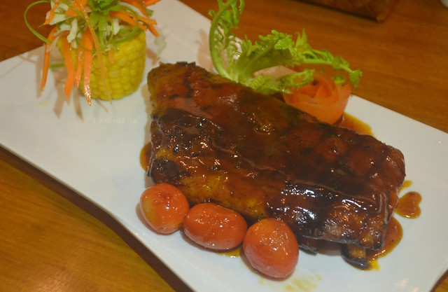 ferra hotel Grilled Back Ribs (Php395)