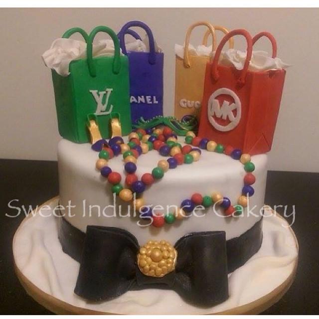 Happy Birthday Gucci Cake