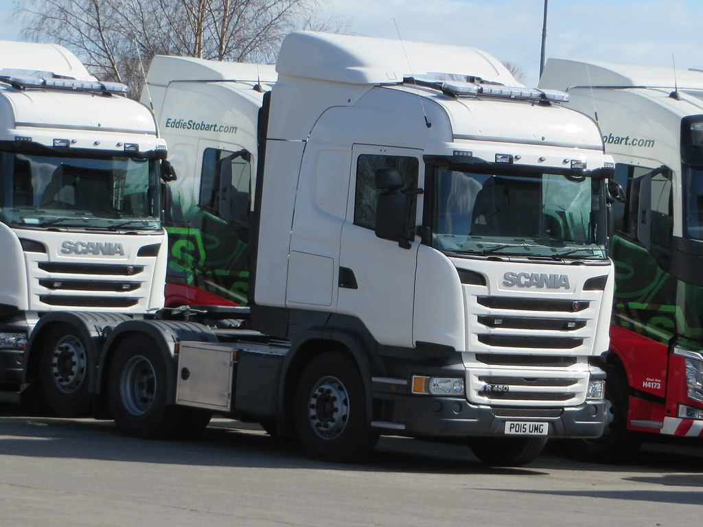 PO15UMG Scania for WS Transportation | Foundry Lane, Widnes | Graham