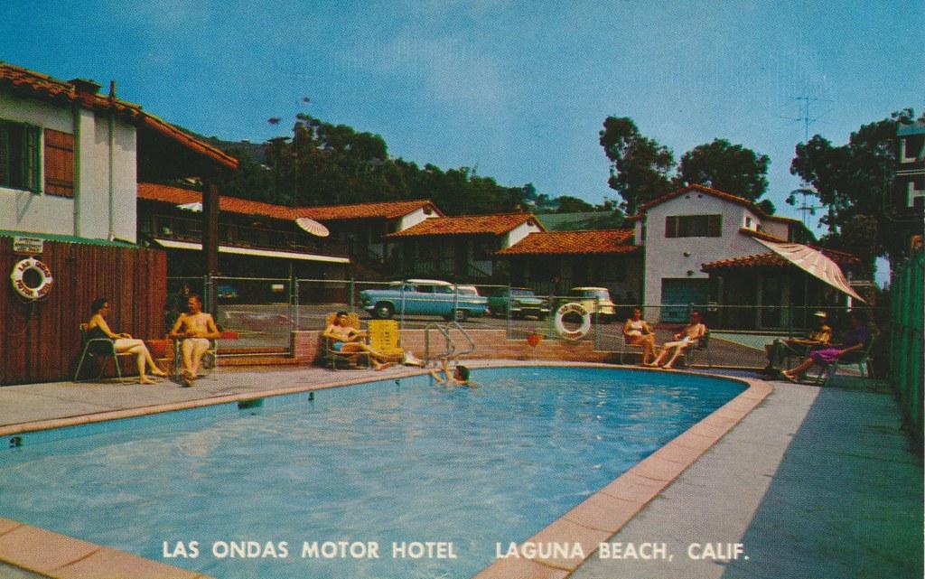 Las Ondas Motor Hotel - Laguna Beach, California
