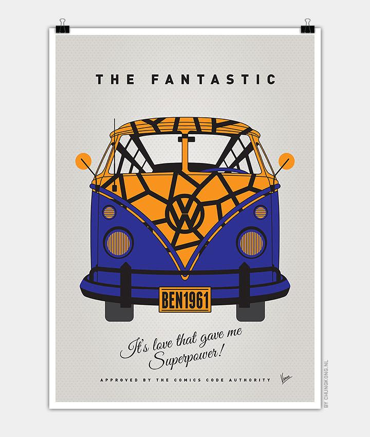 Volkswagen T1 superhero rides by Chungkong - Fantastic 4