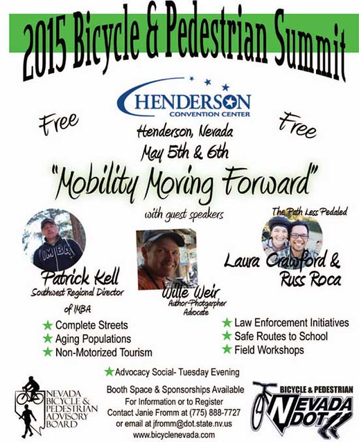May 5-6 Mobility Moving Forward @ Henderson, NV #simasbicicletas @bikinglasvegas @nevadadot @cityofhenderson