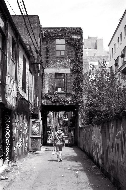 Navigating Graffiti Alley