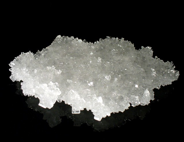 Sugar crystals (home-made)