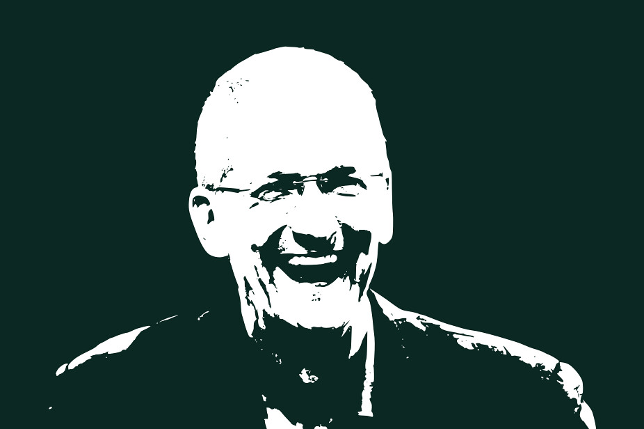 Tim Cook happy